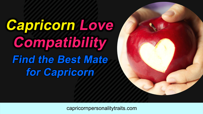 Capricorn Love Compatibility - Find the Best Mate for Capricorn